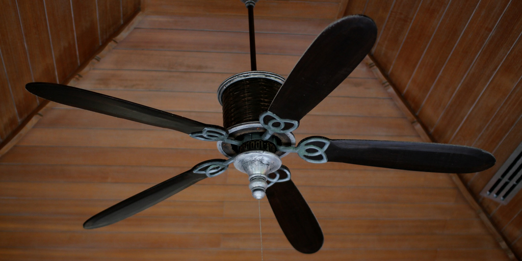 ceiling fan in reverse for winter